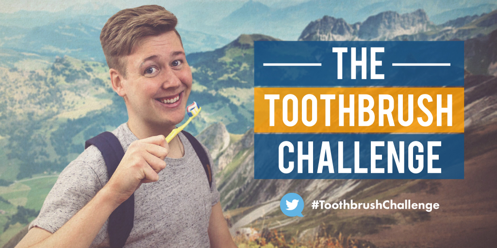 Dolley Madison Dentistry Toothbrush Challenge